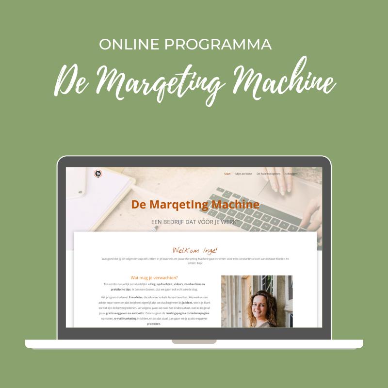Online Programma De MarqetIng Machine